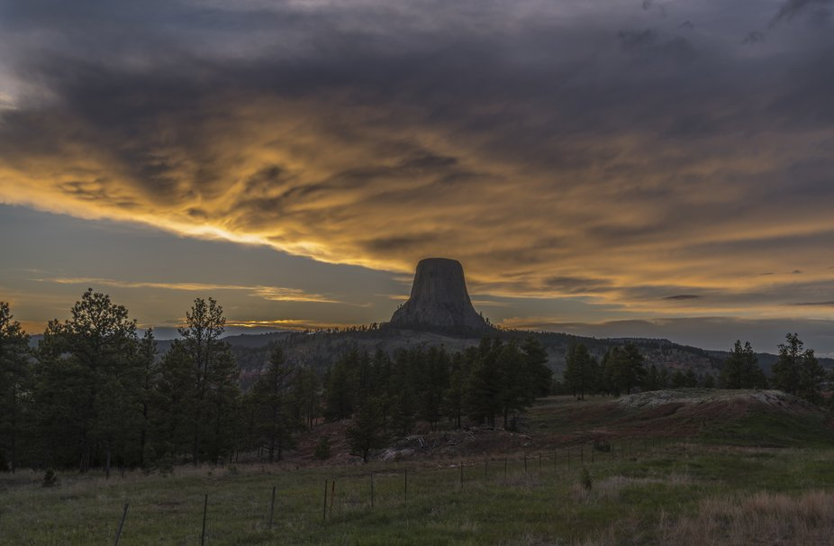 This shot was taken on a camping trip in South Dakota and Wyoming.  This was the first time visit...