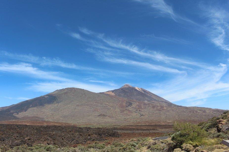 Mount Teide on Teneriffe, Spain