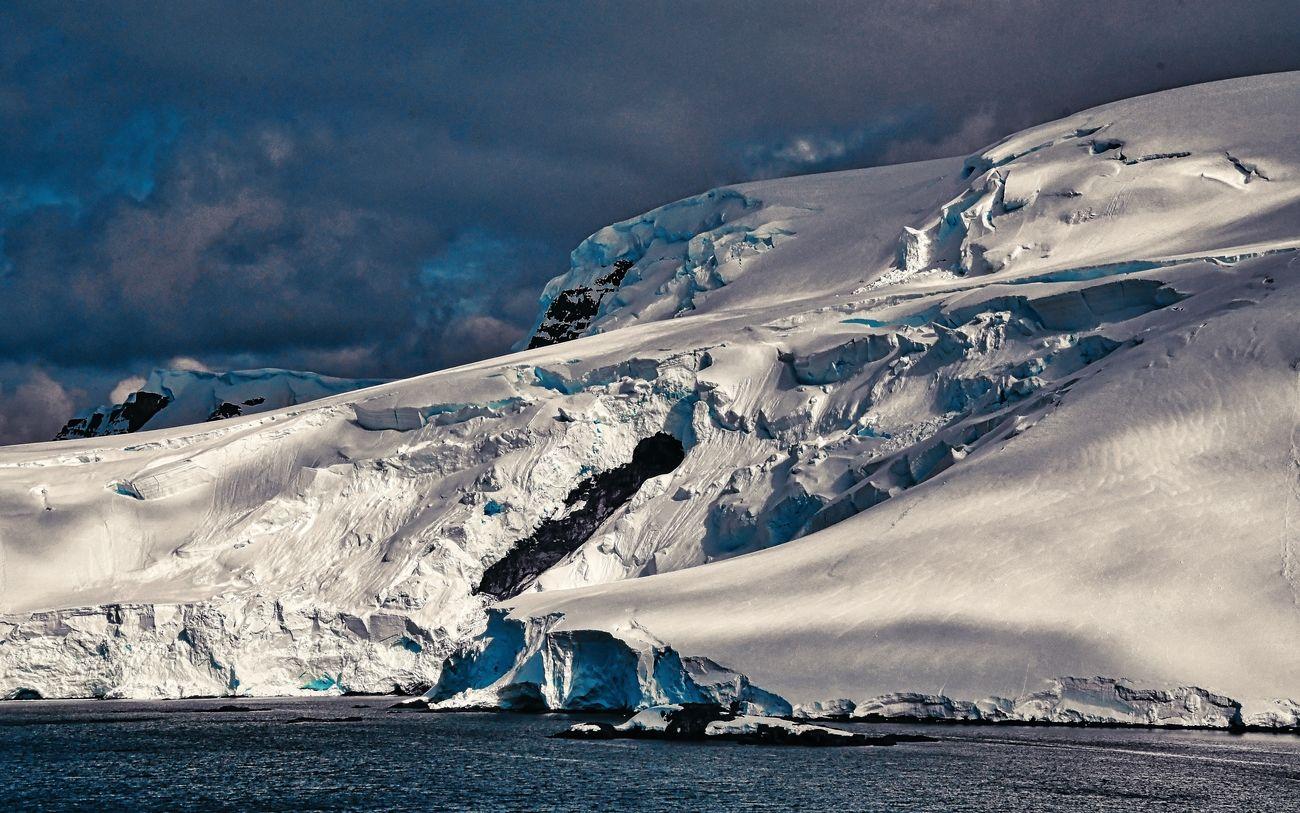 Mikkelsen Harbor in the Antarctic Peninsula