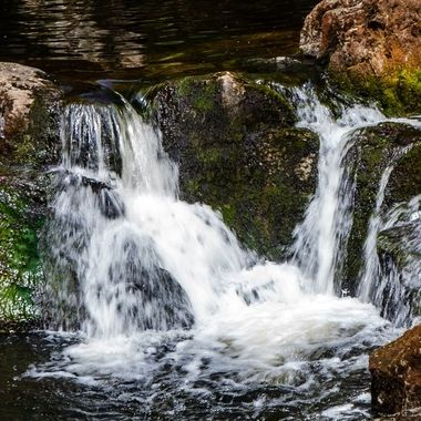 Waterfall, Yorkshire Dales (@)
