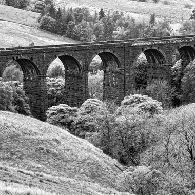 Viaduct, Yorkshire Dales.