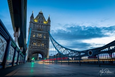 Blue Hour At Tower Bridge