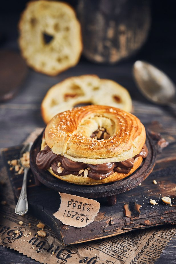 Chocolate bagel by juliseven - Food On The Table Photo Contest