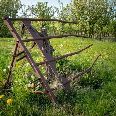 Old farm tool at Wijdenes, Holland
