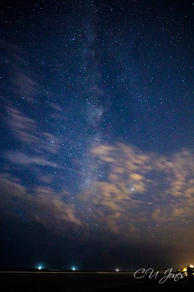 Milky way on Folly beach. It was well worth the 1am wake up to go and see this wonder. I am sorry for all the noise.