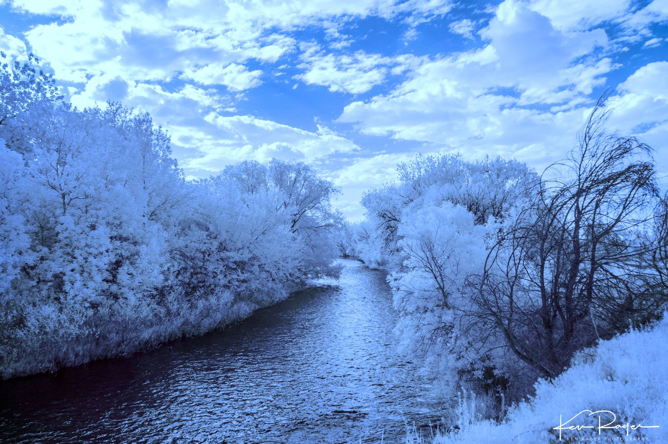 First attempts at IR Photography