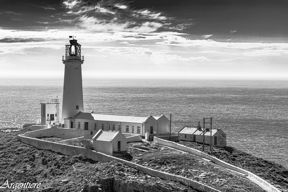 A famous Lighthouse on the north west coast of Anglesey, the home of thousands of seabirds nestin...