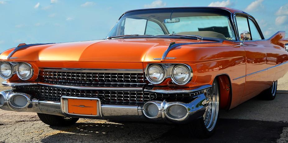 Orange Cadillac