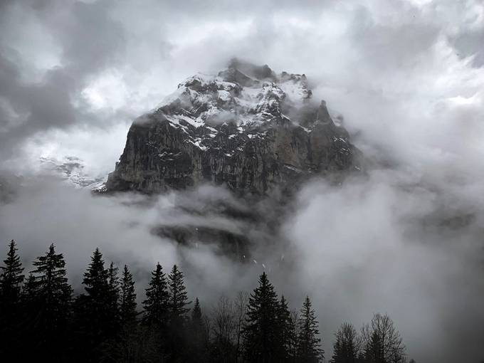 Solid Rock by zachbale - Beauty In The Clouds Photo Contest
