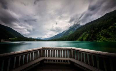 Antholz Lake in South Tyrol   Dolomites, Italy