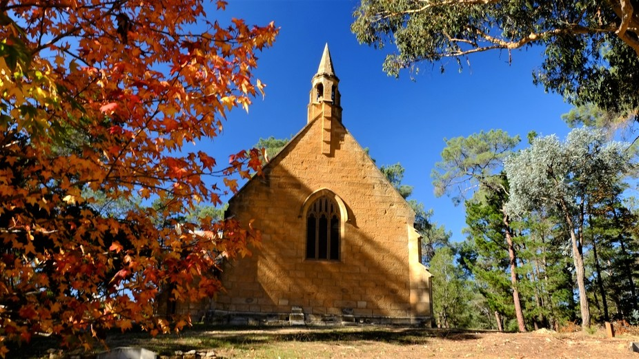 Beautiful old church Berrima, NSW, Australia,