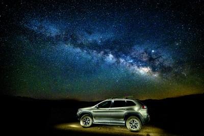 Jeep + Milky Way = Happy