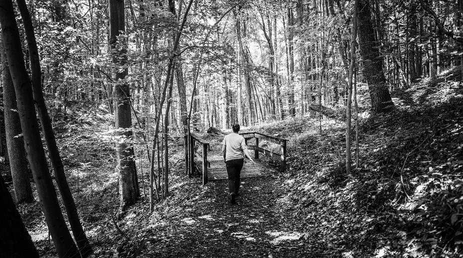 Hike to bridge
