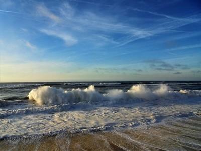 Vagueira  - winter's waves