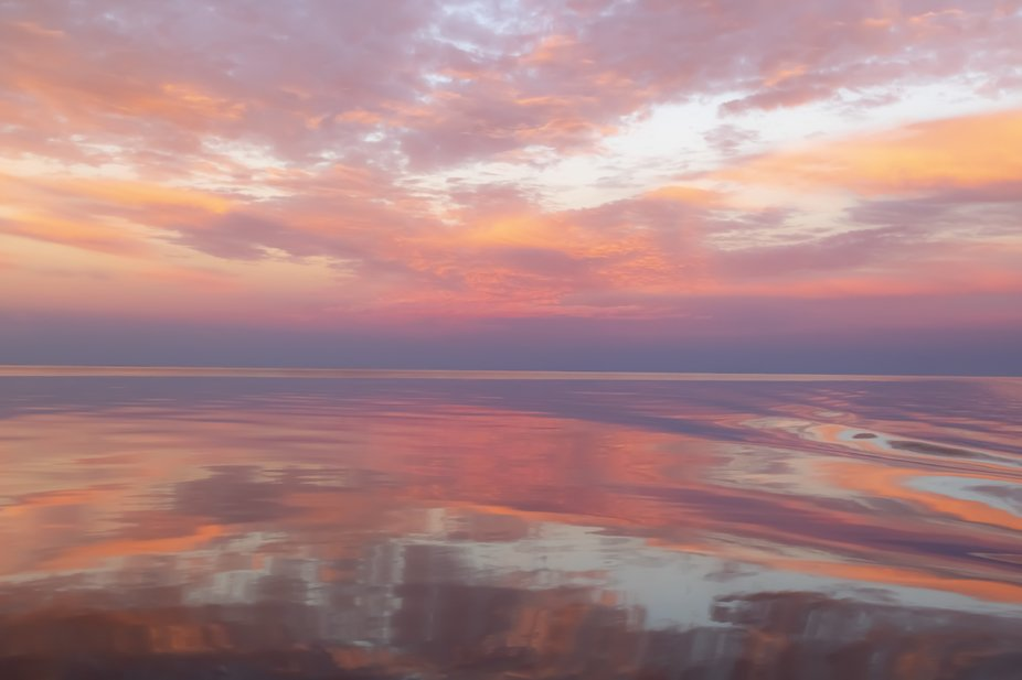 Fairy floss sunset