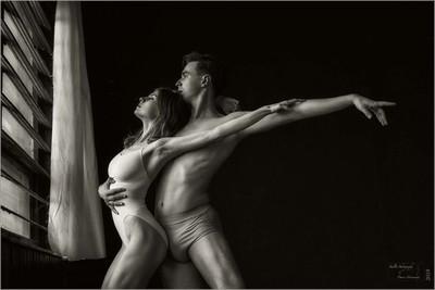 Portrait of a Dance Couple