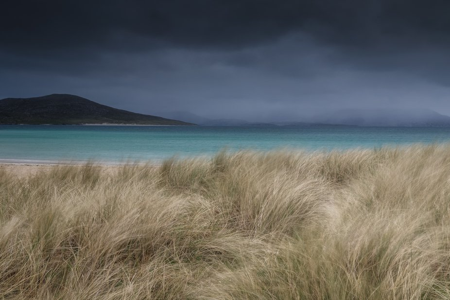 Harris is best with a little bit of mood, like this afternoon at Horgabost.