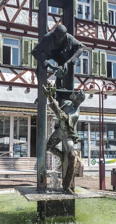 Gingen am Brentz, Marktplatz