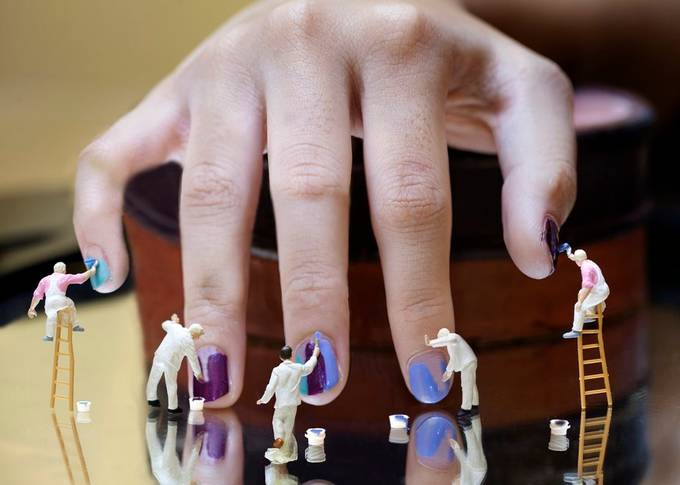Nail Manicure by Eduardbetz - Creativity At Home Photo Contest