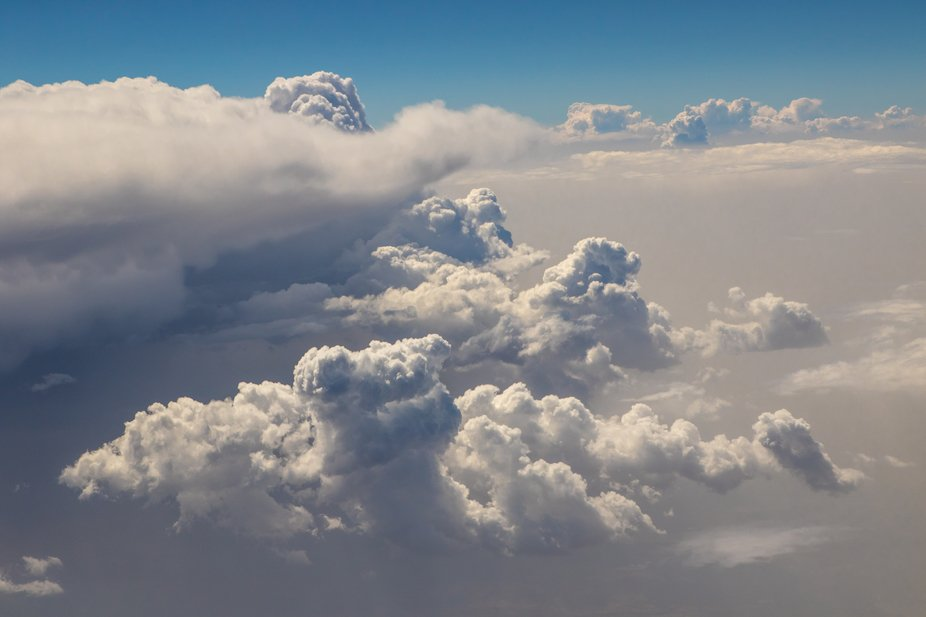 It is majestic to be on top of the clouds!