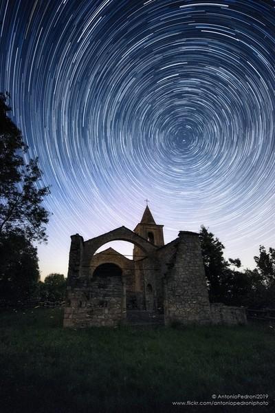 A circle of stars