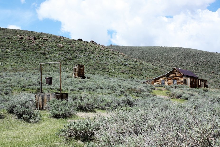Bodie Ghost town homestead