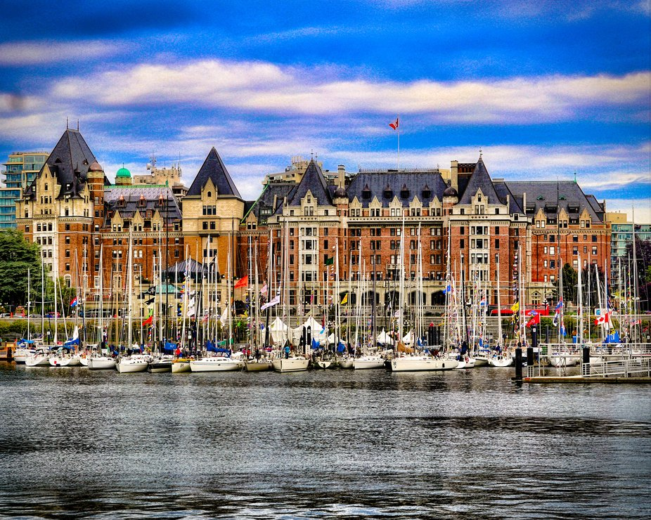 Empress Hotel and Victoria's Inner Harbour
