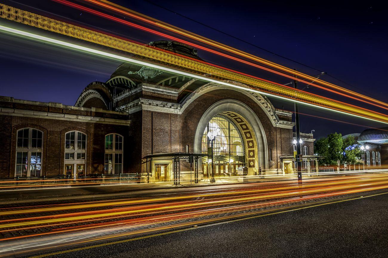 Union Station Lighttrails