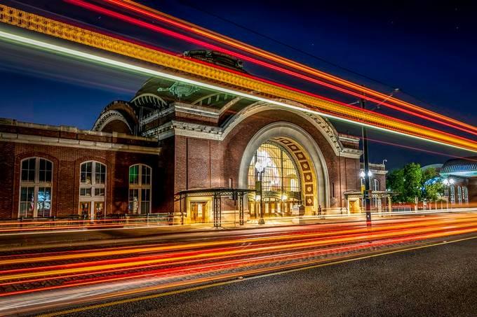 Union Station Lighttrails by ThanePhelan - Urban Explorer Photo Contest