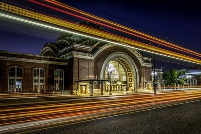 Union Station Lighttrails