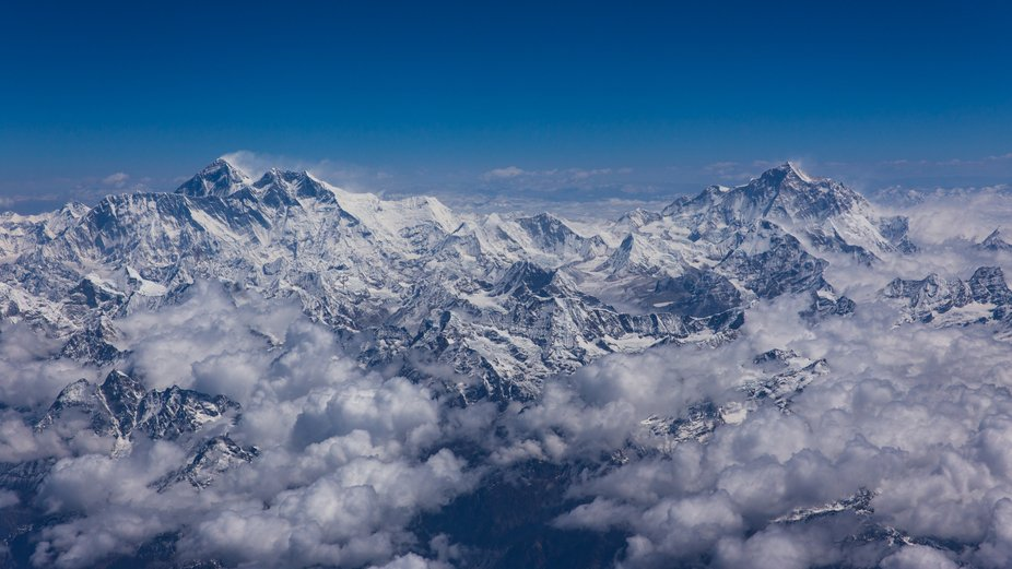 I took this images on a charter flight  to Mt Everest. We were lucky enough to have amazing weath...