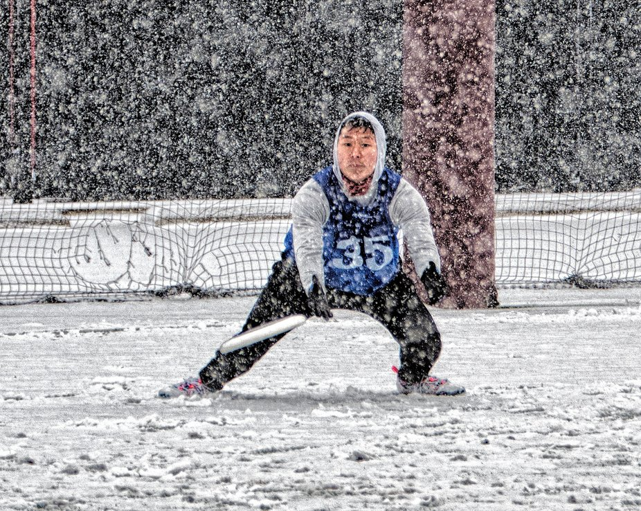 Chicago WIldfire tryouts were in January 2019 during a snowstorm. The guys were pushing it to the...