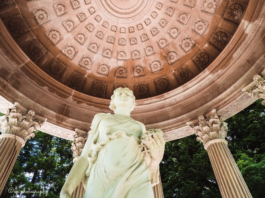 The Temple of Love located in Cave Hill National Cemetery is the Satterwhite Memorial Temple. Pre...