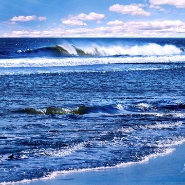 New Smyrna Beach Waves