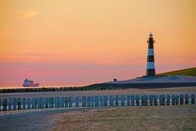 Leuchtturm Breskens Niederlande Nordsee
