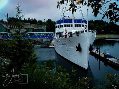 The Pier, Ucluelet, Vancouver Island, British Columbia, Canada