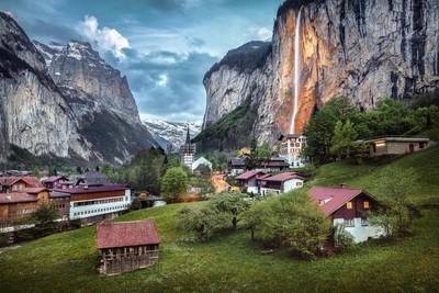 A postcard from Lauterbrunnen