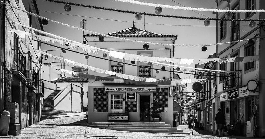 Numa pequena cidade Portuguesa, Alcácer do Sal.