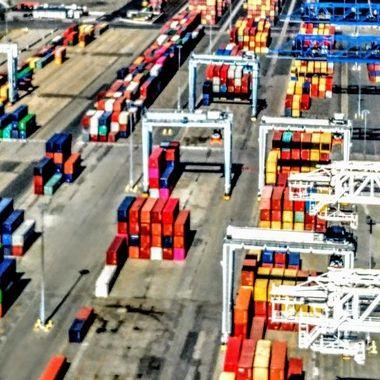 Rainbow Of Loading Docks