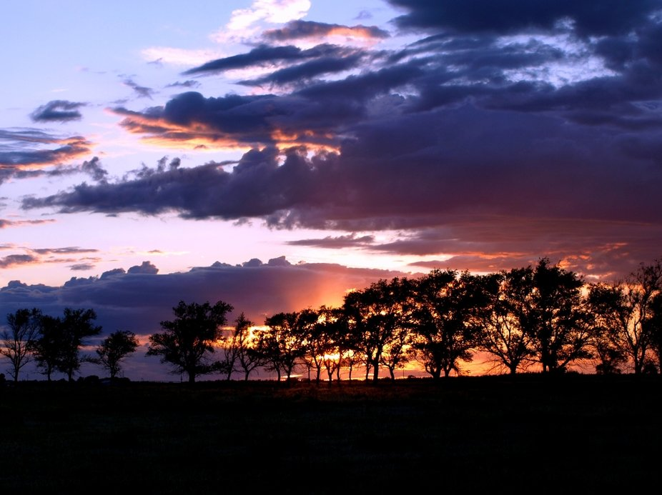 Sunset in the Sandhills