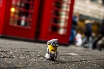 minion in the big London city