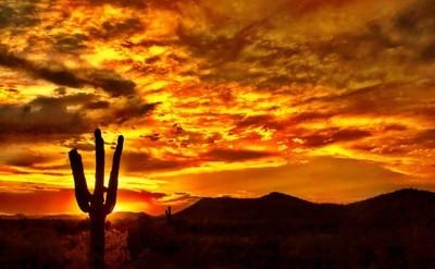 Awesome Arizona Sunset