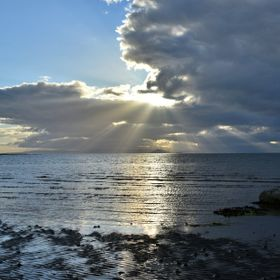 I was on hoilday at Ayr Scotland as I was watching the sun going down I had to take the great shot  looking over at the isle of Arran