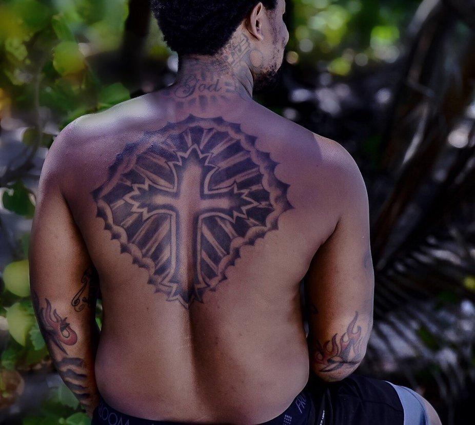 Man with tatoos