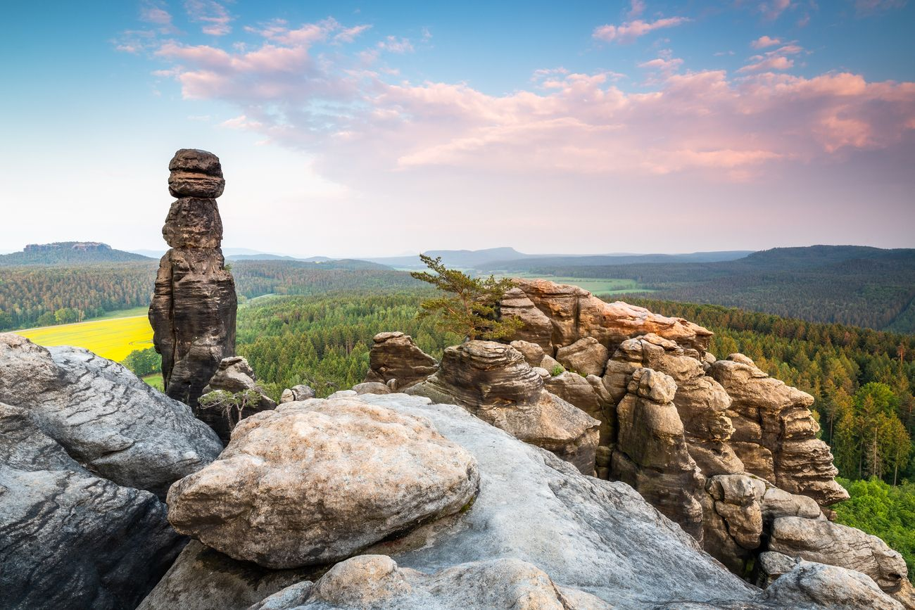 The Barbarine in the Saxon Switzerland, Germany