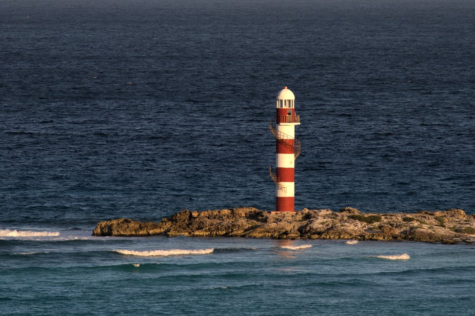 Lighthouse, Cancun, Mexico