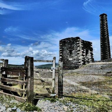 Lead ore mine on the Isle of Man