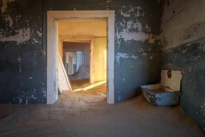 In the Ghost Town of Kolmanskop