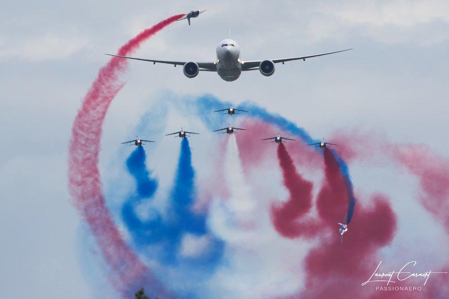 777 et Patrouille de France