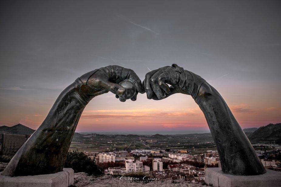 Mirador del Bellveret ,Xativa ,Spain
